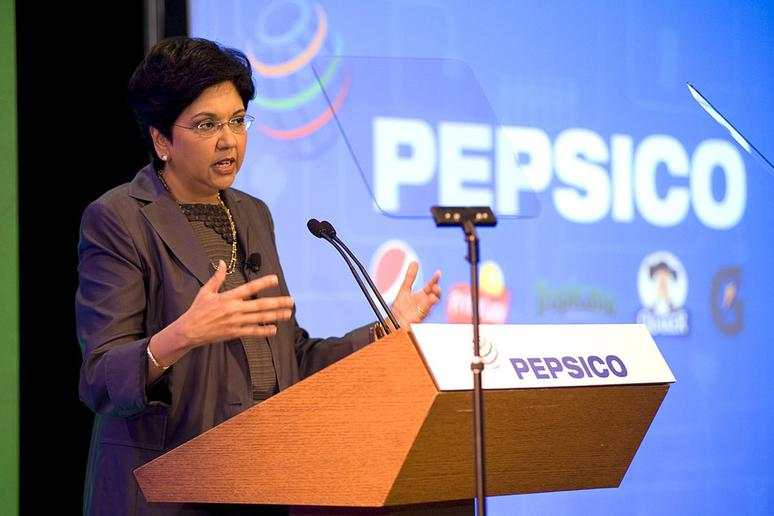 #2 Indra Nooyi, Chairman and CEO, Pepsi