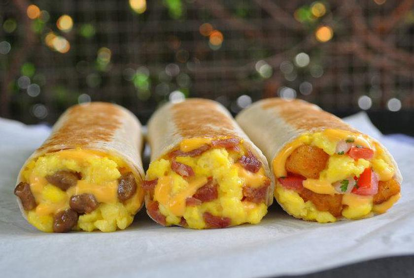 Taco Bell Adds Grilled Breakfast Burritos to Morning Menu