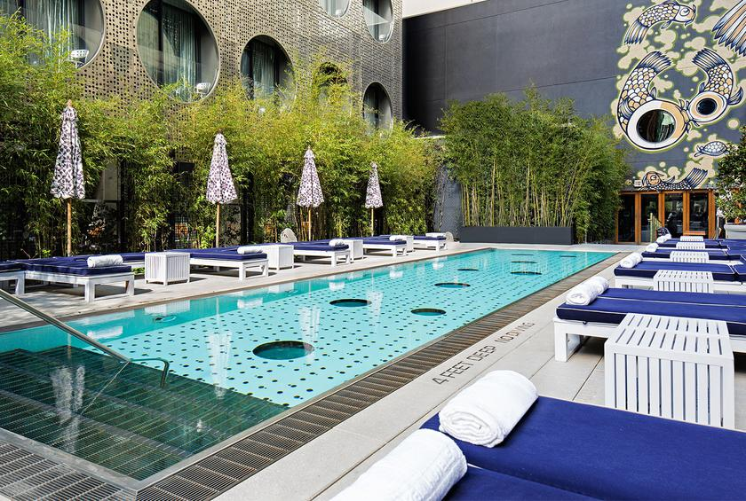 Infinity Pool At The Joule Dallas Texas