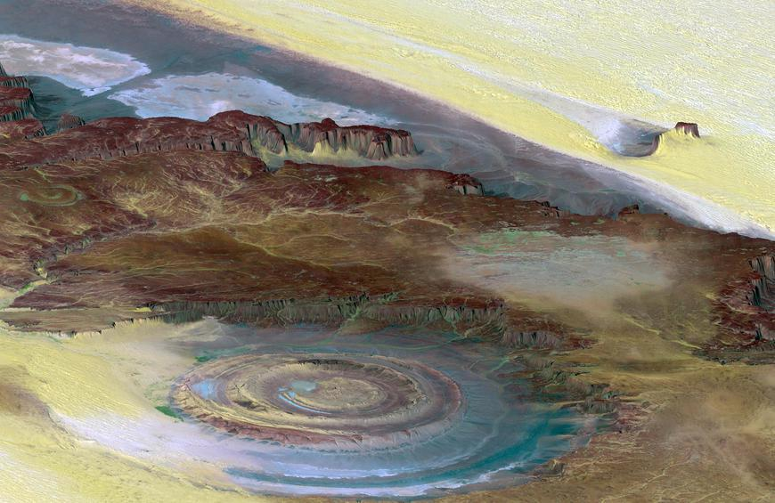 Richat Structure (Mauritania)