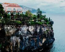Madeira's Reid's Palace prime perch above the Atlantic.