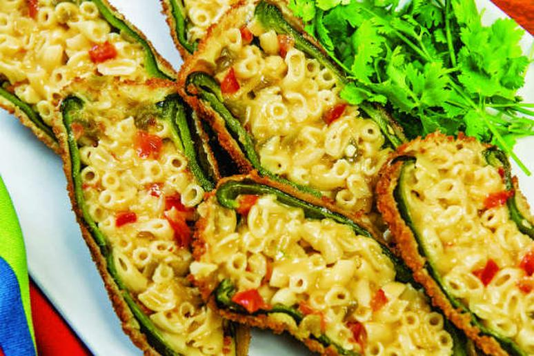 Mac and Cheese Chile Rellenos Recipe
