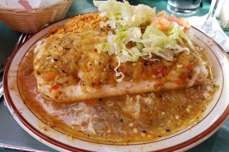 #2 Green Chile, The Shed, Santa Fe