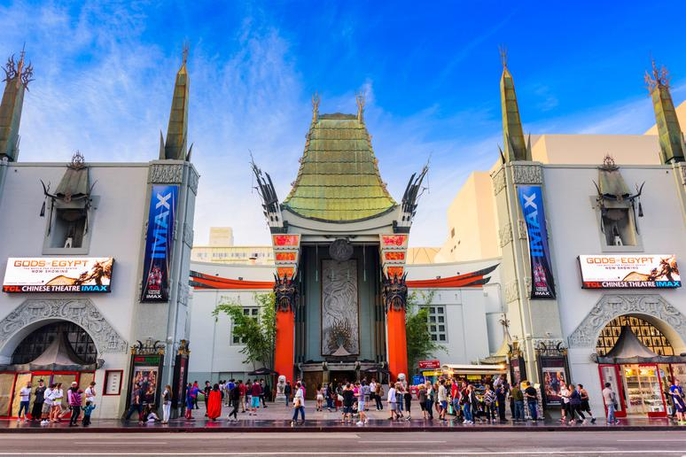 Catch a movie at Grauman's Chinese Theatre