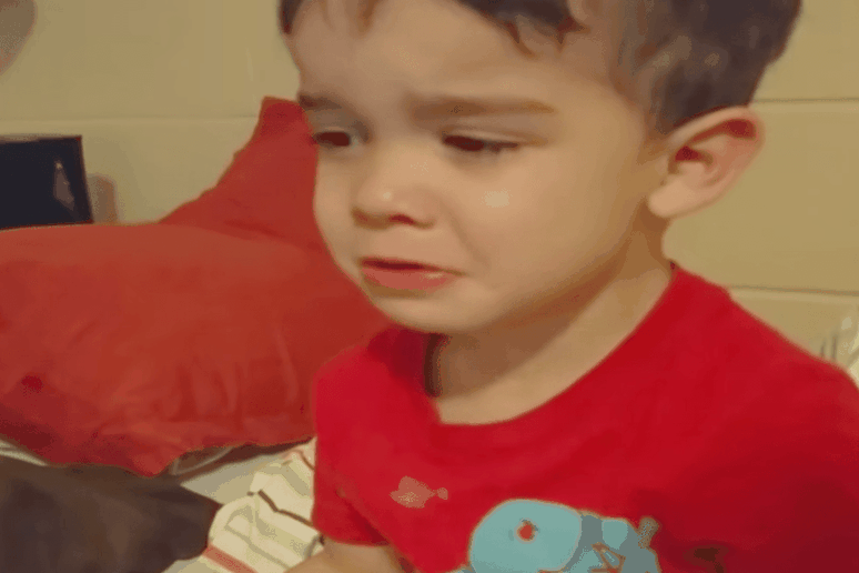 Little Boy Tearfully Rejects Dinner Because 'It's Just Too Cute for Me to Eat'