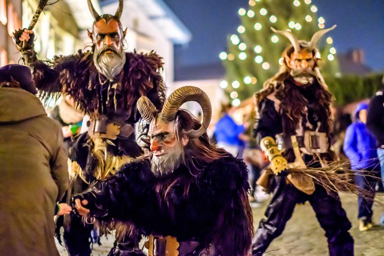 8. It inspired the folk character Krampus
