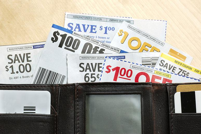 Paying too much attention to sales and coupons
