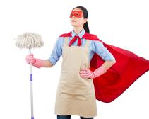 Cleaning hero