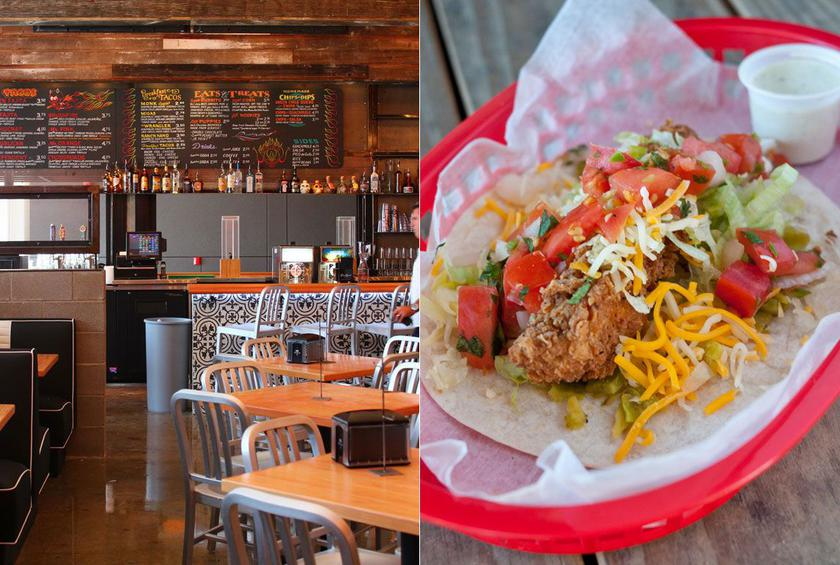 19) Torchy's Tacos, Various Texas Locations: Trailer Park Taco