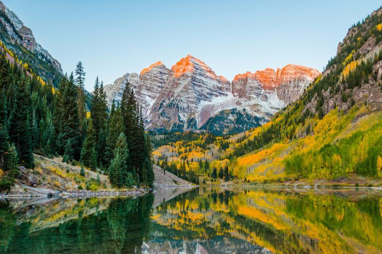 Colorado - Maroon Bells, Elk Mountains