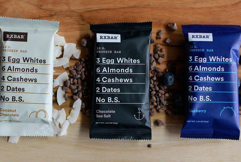 The smart, simple packaging of these whole food protein bars is quite attractive.