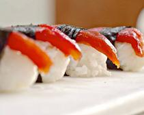 This Chef Can Fool You Into Falling for Vegan Tomato Sushi