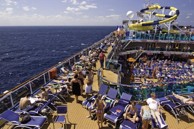 The most outrageous pools on ship cruises