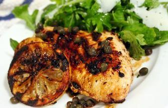 Lemon Caper Grilled Chicken