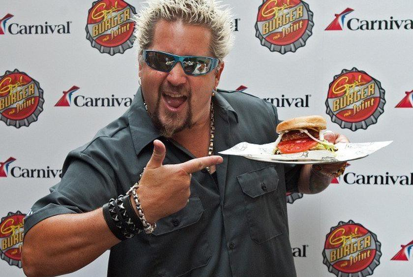 Guy Fieri Teams Up with Major Venue Operator to Launch Several Locations of Guy's Burger Joint