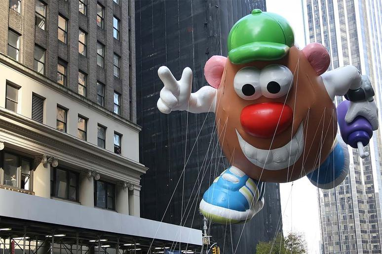 The Balloons Were Originally Cut Loose at the End