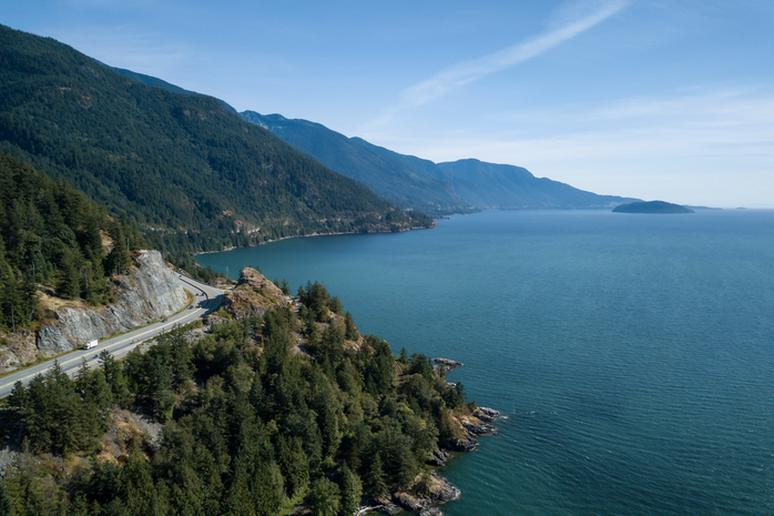 46. Drive the Sea to Sky Highway. B.C., Canada