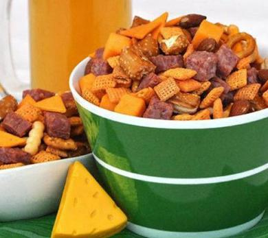 Cheese Head Chex Mix