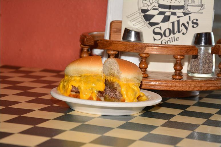 #25 Original Solly Burger, Solly's Grille, Milwaukee