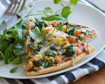 Stir-Fry Vegetable Pizza