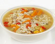 Rice and Turkey Soup