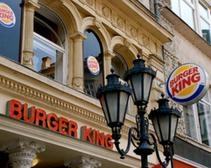 A Burger King in France; a new study shows international fast food has less sodium than the U.S.