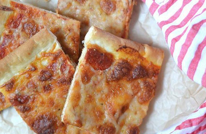 Domino S Thin Crust Pizza Recipe By Anne Dolce