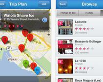Certain apps can help you find the best eats while you travel.