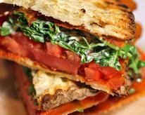 Prosciutto, Arugula, and Tomato Sandwich
