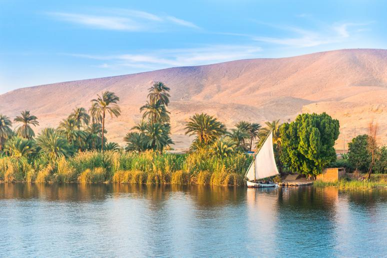 Cruise down the Nile River in Egypt