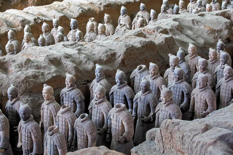 Marvel at the Terracotta Army in Xi'an