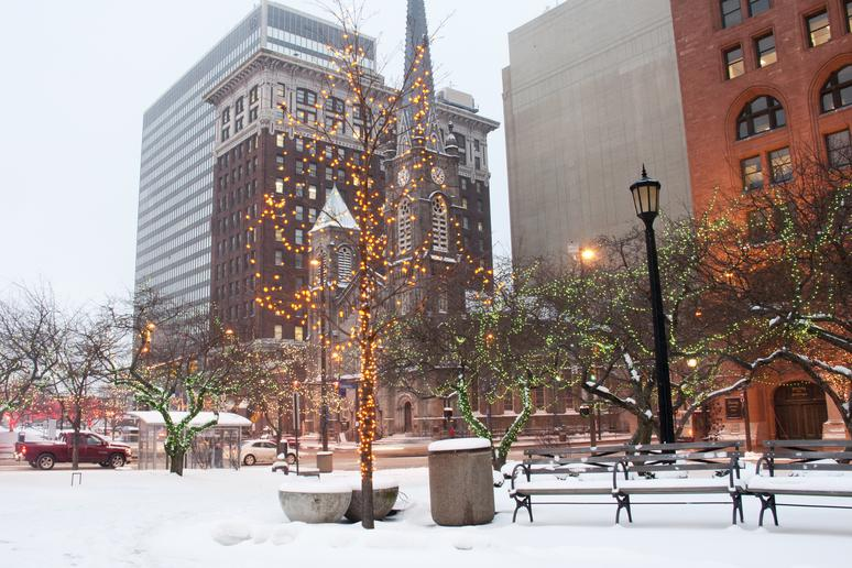 No. 8: Cleveland (Avg. Yearly Snow: 68.5 inches)