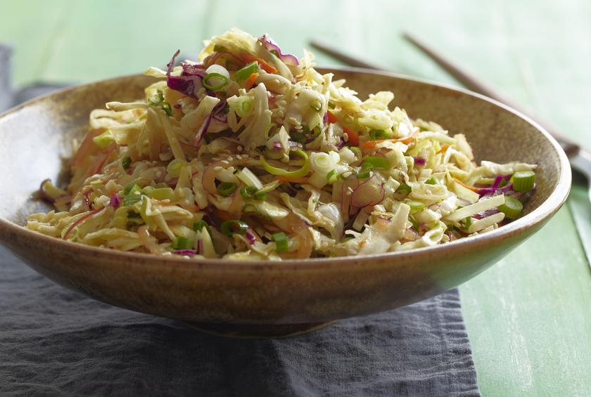 Asian Style Slaw By Dave Lieberman At Foodnetwork