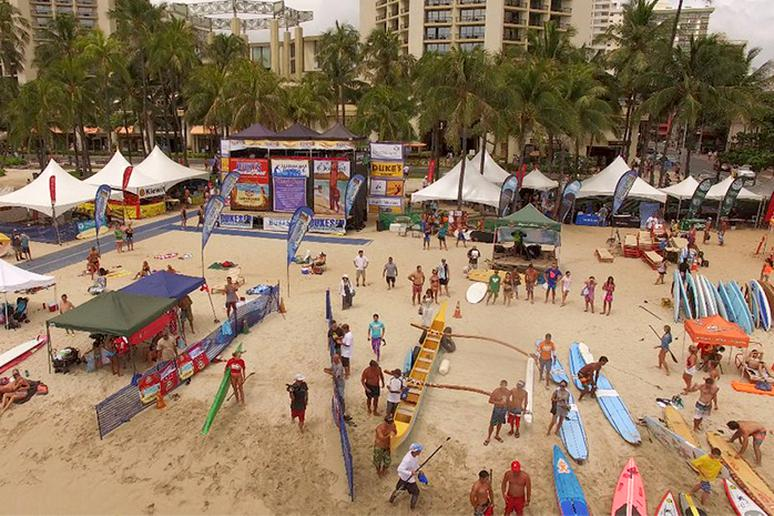 Catch world-class surfing on Waikiki beach, Hawaii