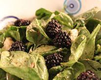 Blackberry and Spinach Salad