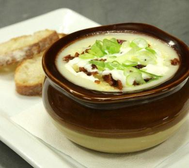 The Cutting Room's Loaded Potato Soup
