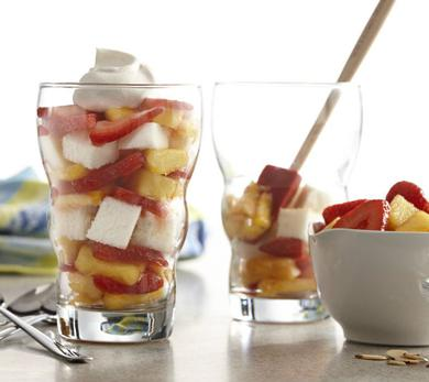 Gingered Fruit Parfaits
