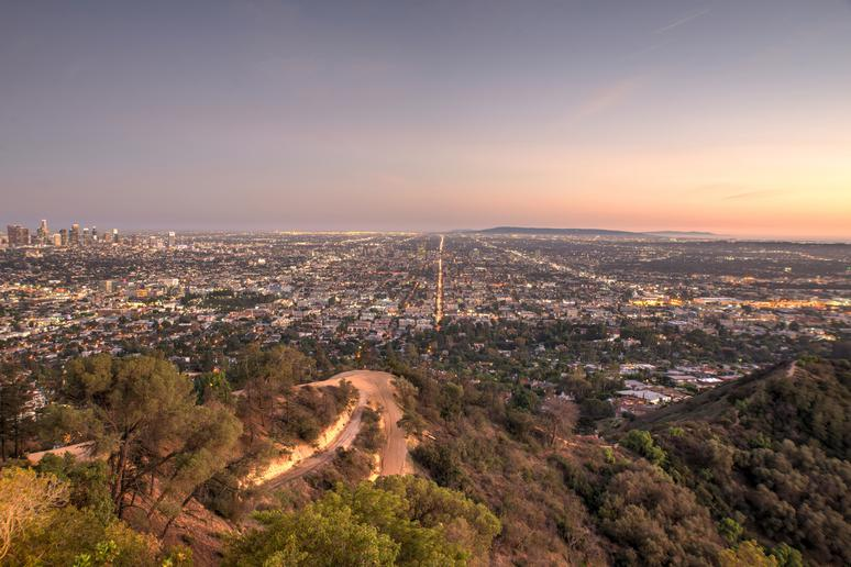 Go for a jog in Runyon Canyon Park