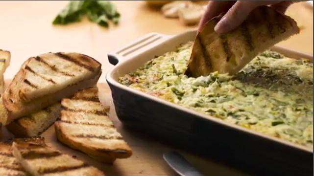 Olive garden 39 s spinach and artichoke dip recipe by rachael - Spinach artichoke dip olive garden ...