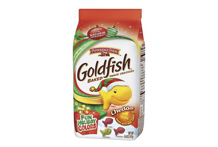 Pepperidge Farm Red And Green Holiday Goldfish