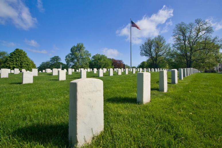 Crown Hill Funeral Home and Cemetery in Indianapolis, Indiana