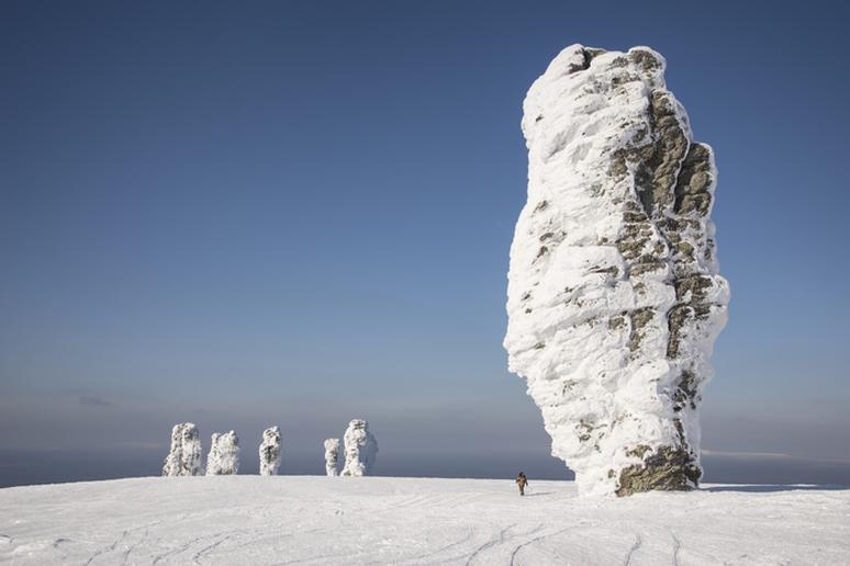 Manpupuner rock formations, Russia