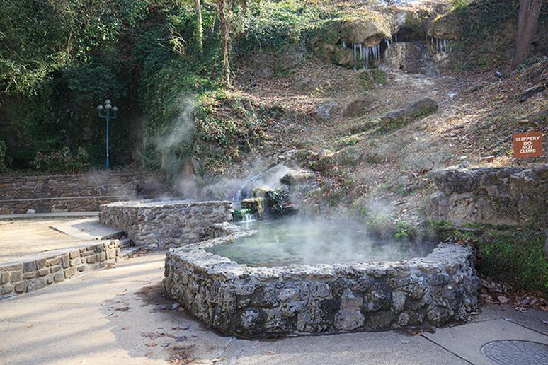 Arkansas: Hot Springs National Park (Hot Springs)