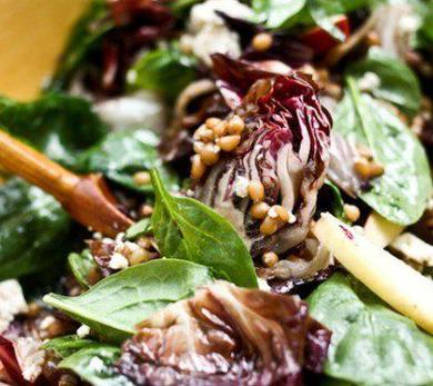 Radicchio and Wheat Berry Salad