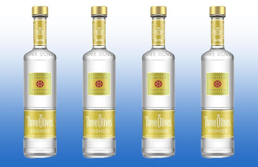 New Eggnog Vodka Will Make Your Holiday Drinks a Little Egg-streme
