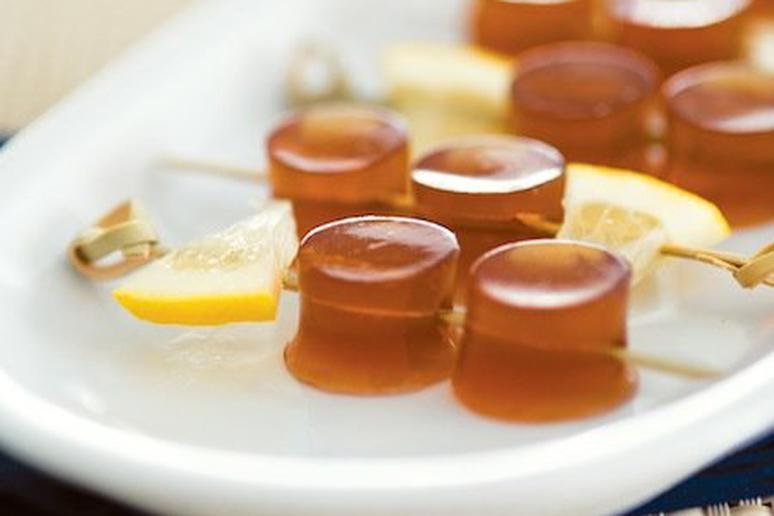 Long Island Iced Tea Jelly Shot