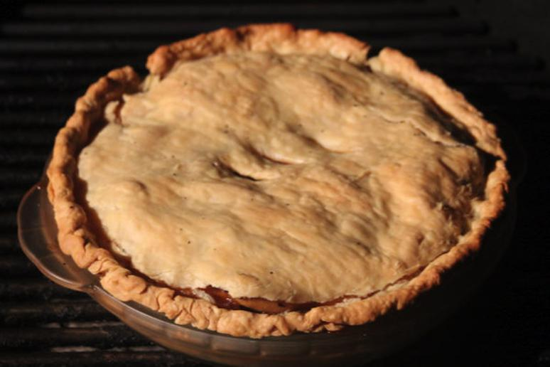 Grilled Apple Pie