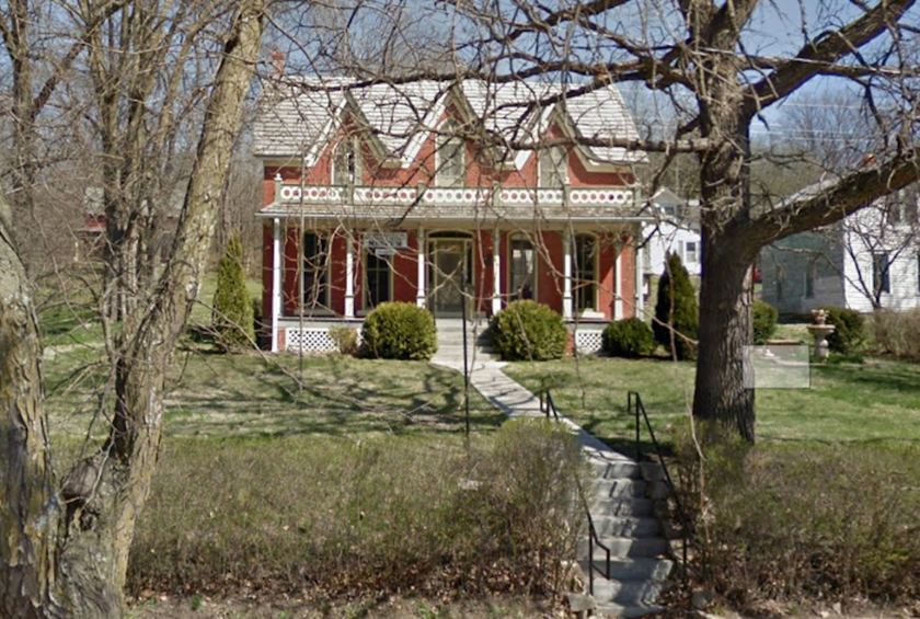 Nebraska: Bailey House (Brownville)