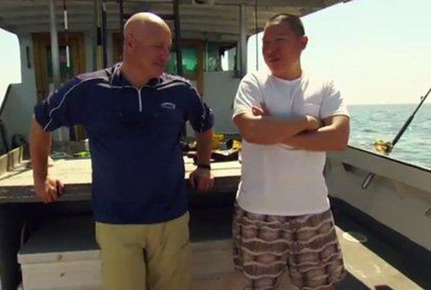 Tom Colicchio and Eddie Huang