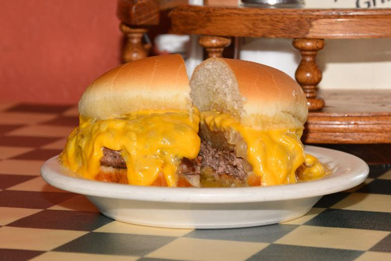 #55 Original Solly Burger, Solly's Grille, Milwaukee